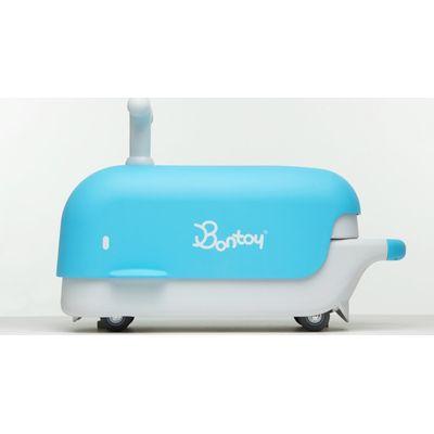 Loopwagen Bontoy Blue Whale Moby - Hebeco