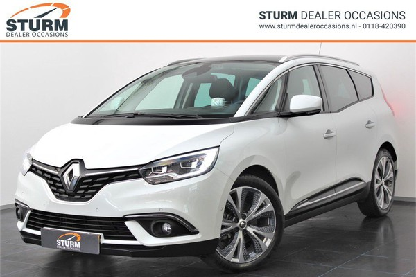 Renault Grand Scénic 1.3 TCe Bose 7-Persoons | Panoramadak | Head-Up Display | Dodehoek Detectie | LED | Navigatie | Camera | Park. Assist | ½ Leder | Rijklaarprijs!