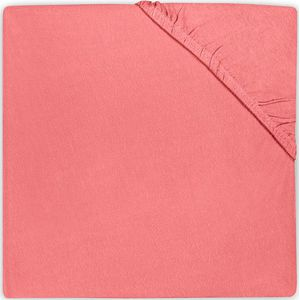 Jollein Hoeslaken Jersey 40x80cm - Coral Pink