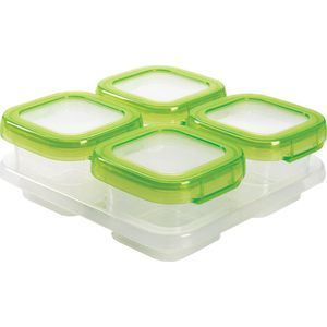 OXO Tot Vierdelige Set Diepvriesdoosjes (120 ml) - Green