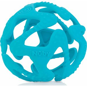 Nuby Flexibele Silicone Teething Ball - Aqua