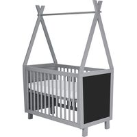 Coming Kids Ledikant - Framed Blue Grey