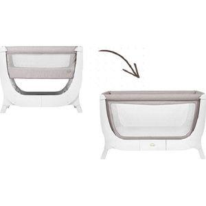Shnuggle Air Pack Bedside Sleeper + Uitbreidingsset + Matras - Stone Grey
