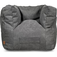 Jollein Kinderfauteuil Beanbag Stonewashed Canvas - Grey