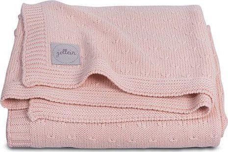 Jollein Deken 100x150cm Soft Knit - Creamy Peach