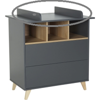 Quax Barrier Commode Loft - Antracite