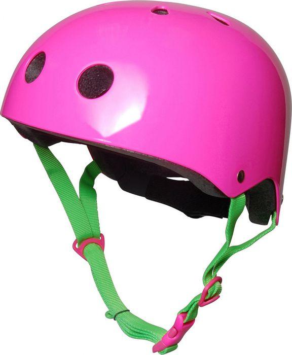 Kiddimoto Helm Neon Roze S