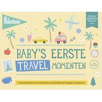 Milestone™ Baby's Cards - Eerste Reismomenten