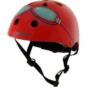 Kiddimoto Helm Red Goggle M