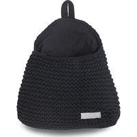Wandzakje Heavy Knit Black - Jollein