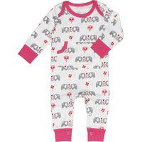 Fresk Pyjama Elephant Grijs/Roze 6-12mnd(UL)