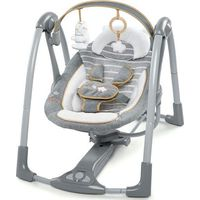 Bright Starts Ingenuity Boutique Portable Swing - Bella Teddy