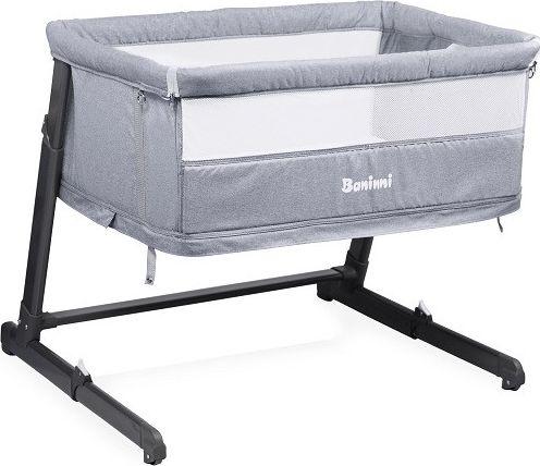 Baninni 2in1 Bed Side Crib Leya - Grey