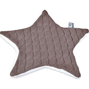 Baby's Only Knuffeldoekje Ster Kabel Uni - Taupe