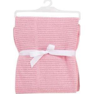 Babydan Wiegdeken Gebreid - Roze