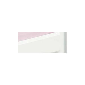 Briljant Baby Hoeslaken Ledikant Jersey 60x120cm - Roze