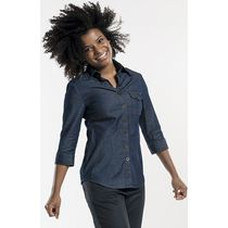 spjikerblouse denim horeca