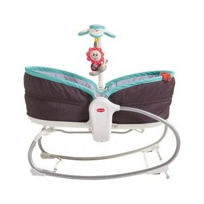 Tiny Love Rocker Napper 3-in-1 -  Grey/Turqoise