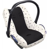Dooky Seat Cover 0+ Autostoelhoes - Black Feather