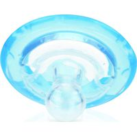 Nuby Fopspeen Natural Flex 0-6m - Blauw (UL)