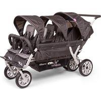 Childwheels Sixseater Wandelwagen Antraciet 6 Kinderen