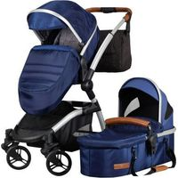 Born Lucky Kinderwagen Luxe Blauw