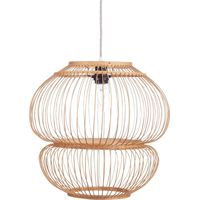 Bubbel Hanglamp Bamboe Naturel