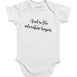 Meyco Romper 62/68 - And So The Adventure Begins