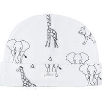 Jollein Mutsje 6-12 maanden - Safari Black White