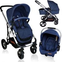 Baninni Kinderwagen Nobel 3 in 1 BN113 Blue
