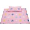 Dekbedovertrek 120x150cm Pien Pink/Multi - Briljant Baby (UL)