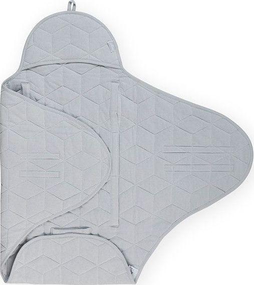 e72bd26c0b3 Jollein Wikkeldeken Graphic Quilt - Grey bij Babyhuis Casita