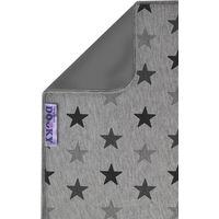 Dooky Blanket 70x85cm - Grey Stars/Grey