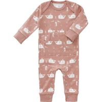 Fresk Pyjama - Whale Mellow Rose 6-12 m