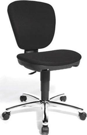 Bopita Topstar Kiddi Star Chrome Zwart Bureaustoel