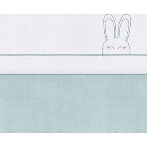 Jollein Laken 75x100cm Sweet Bunny Green