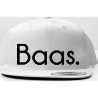 KMDB Cap Snapback Baas - White