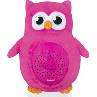 Baninni Projector Lamp Owl - Pink