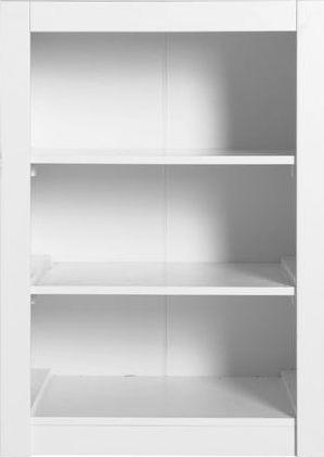 Wandkast Enkel 3 open vakken