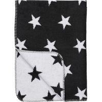Ledikantdeken Stars Zwart 120x150cm - Meyco