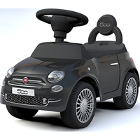 Loopauto Fiat 500 Zwart - Happy Baby