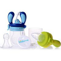 Kidsme Food Feeder Starter Pack - Lime/Aquamarine