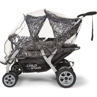 Childwheels Regenhoes Quadruple Wandelwagen
