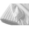 Briljant Baby Waterdichte Molton Hoeslaken 90x200 - Wit