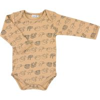 Trixie Romper Lange Mouw Mt 50/56 - Silly Sloth