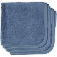 Jollein Monddoekje Velvet Terry - Vintage Blue