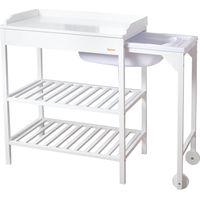 Baninni Houten Verzorgingstafel Lavi - White