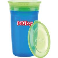 Nuby 360° Wonder Cup 300 ML - Blauw Groen