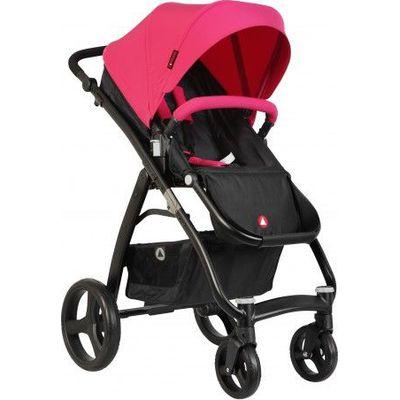 Topmark Kinderwagen Pure Black Frame - Pink