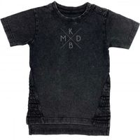 KMDB Shirt Korte Mouw Maat 68 Yankee - Zwart